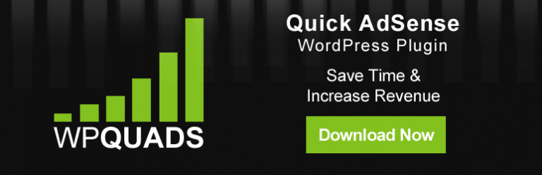 WP Quads Review – AdSense Plugin for WordPress Websites