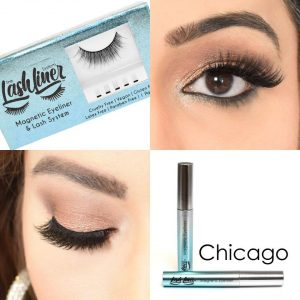 Perfect lashes with The LashLiner System