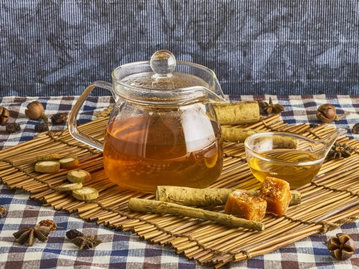 Burdock Root tea from Buddha Teas
