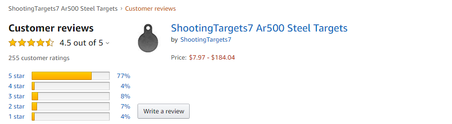 Shooting Targets 7 review