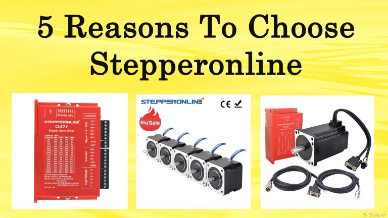 5 Reasons To Buy Stepper Product At Stepperonline