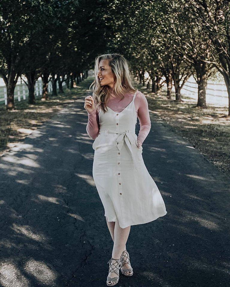 Jumper Dress - Ashley Le Mieux