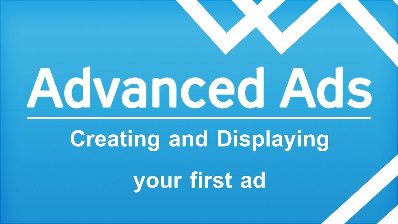Great plugin - Advanced Ads