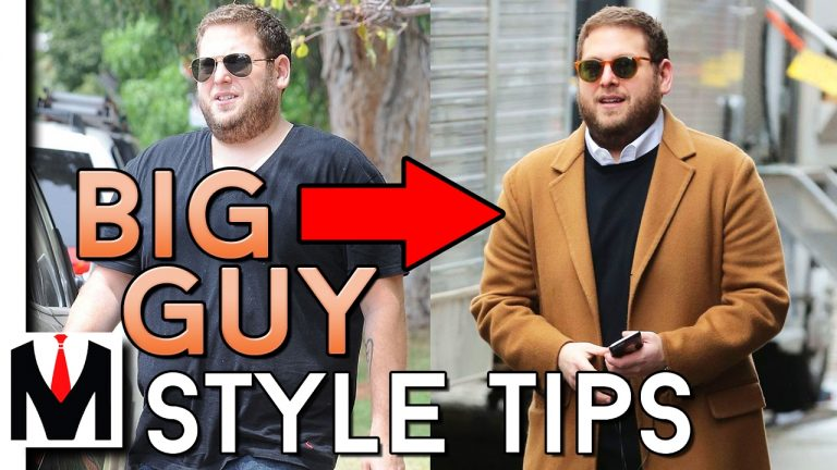 Fashion For Big Guys: 5 dressing tips for overweight guys
