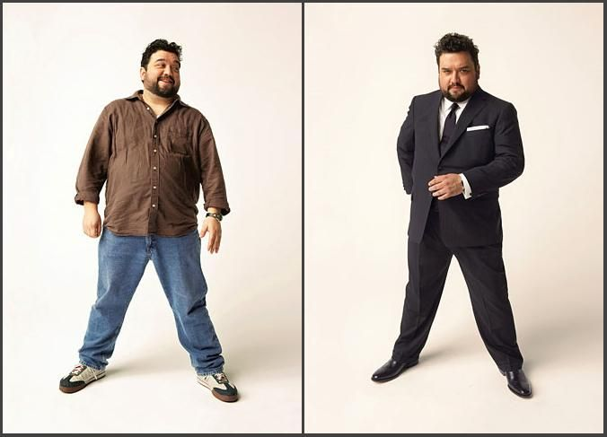 dressing tips for overweight guys