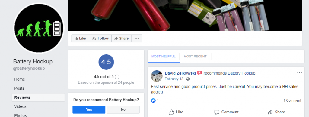 BatteryHookup review