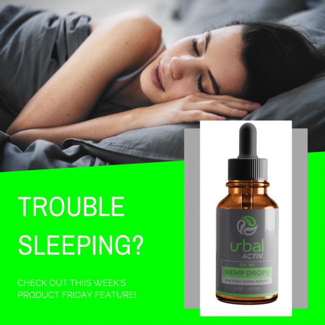 CBD For Better Sleep - Urbal Activ review
