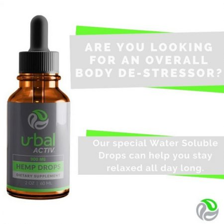 CBD Reduces Stress - Urbal Activ review