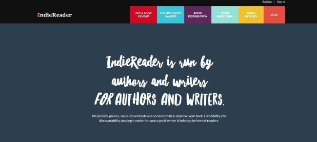 IndieReader review – The best value for self-published authors