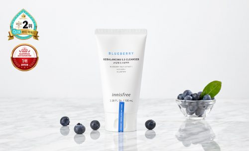 Innisfree Blueberry Rebalancing 5.5 Cleanser - Beautytap Review