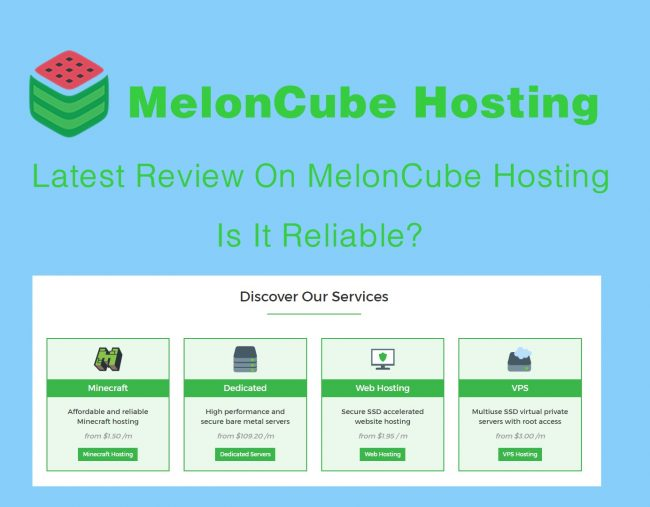 Latest Review On MelonCube Hosting