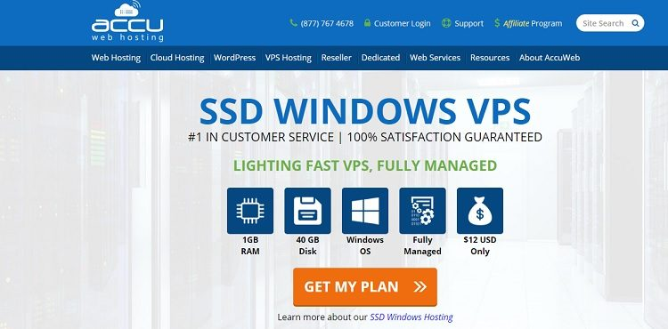 AccuWeb Hosting Review – Reliable Webhosting solution provider