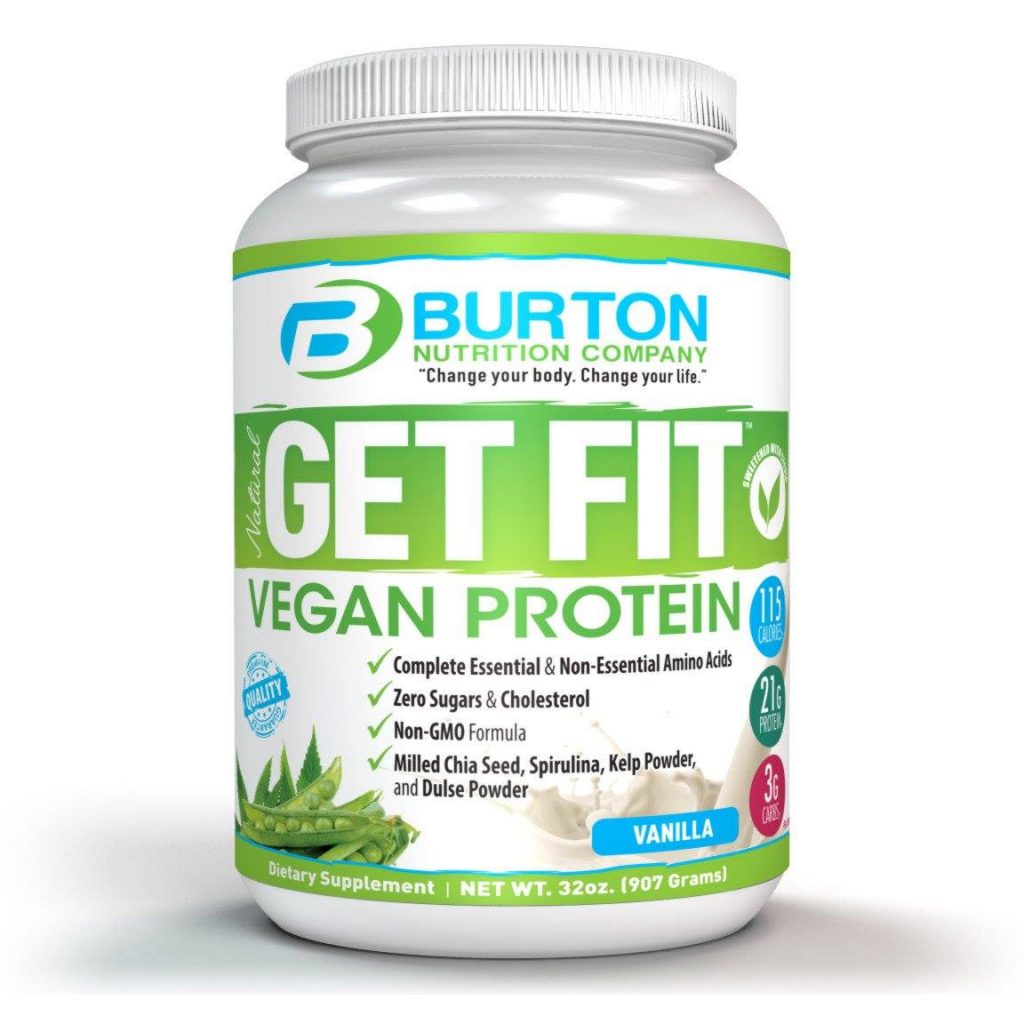 Burton Nutrition vegan protein
