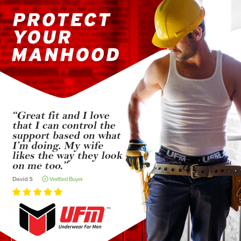Support + Isolate Your Manhood - UFM Underwear Review