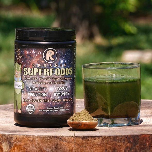 Rawr Life Review - Superfoods Green Drink