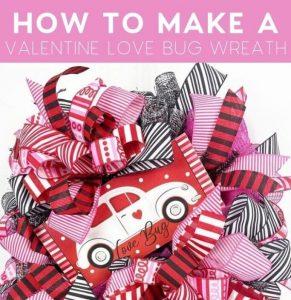 DecoExchange Review - How To Create Love Bug Wreath