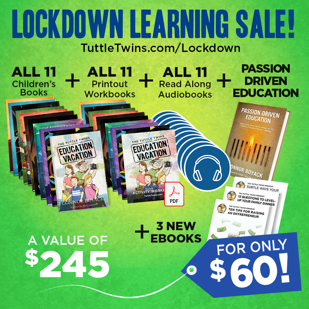 Tuttle Twins books- Get Tuttle Twins coupons - 2