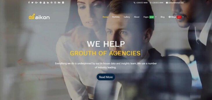 Aikon CMS Review – Beautiful Web for Anyone