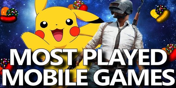 Top 5 Most Played Mobile Games Of All Time