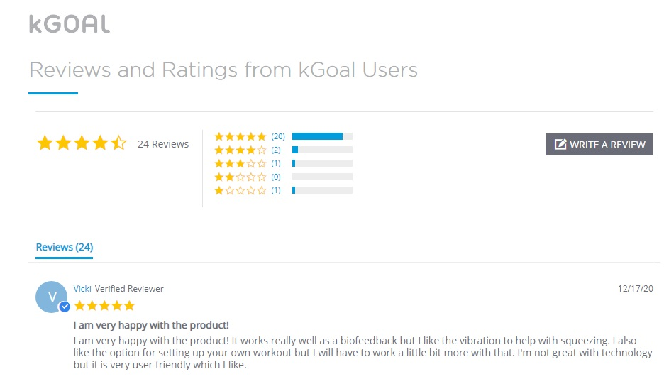 kGoal review