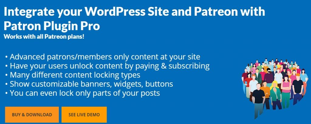 CodeBard Patreon WordPress Plugin 1