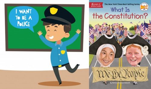 I Want to Be a Police Officer - Law Books For Kids
