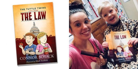 The Tuttle Twins Learn About The Law - Law Books For Kids