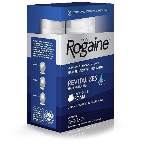 Women's Rogaine 5 % Minoxidil Foam