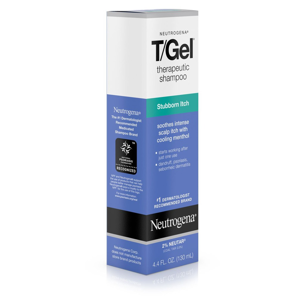 Neutrogena's T/Gel Therapeutic Shampoo