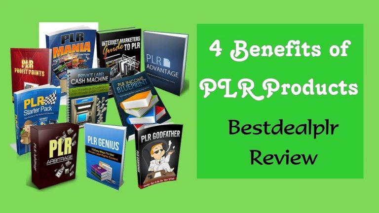 Bestdealplr Review – 4 Benefits Of PLR Products