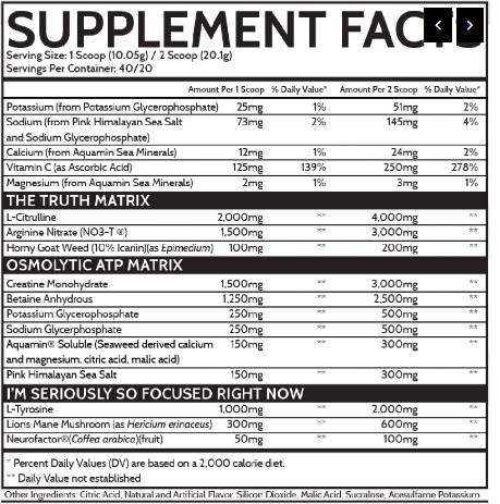 Inspired Nutraceuticals reviews - FSU ingredients