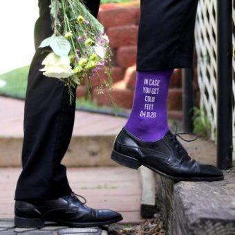 Self-designed Socks - Gifts For The Groom