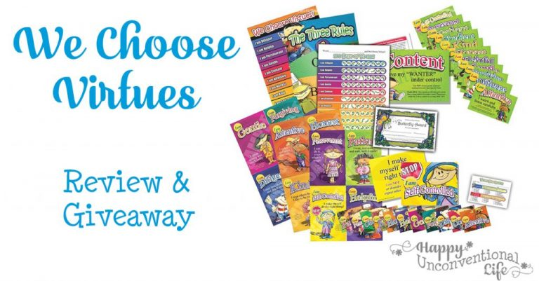We Choose Virtues review – Find the virtue product for your kids