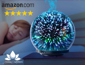 Aroma Outfitters Galaxy 3d Glass Diffuser