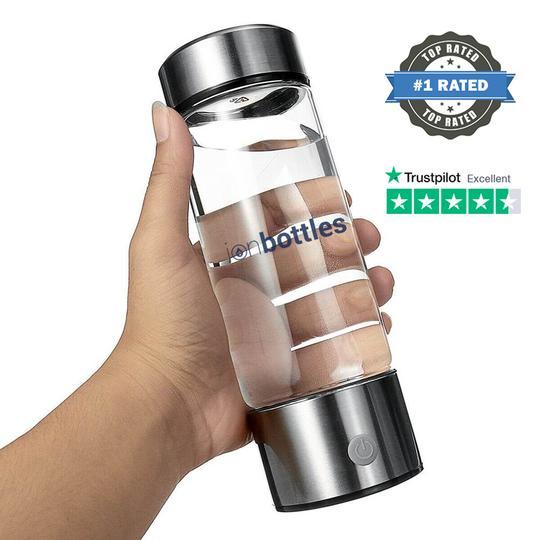 IonBottles Hydrogen Water Bottles
