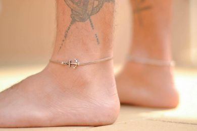 Anchor Anklet - Jewelry Gifts For Men