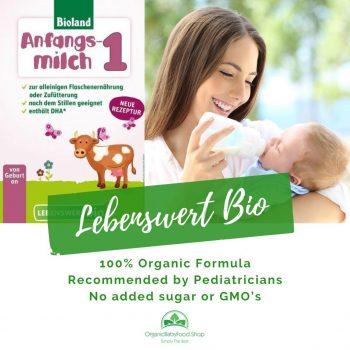 Lebenswert Stage 1 Bio Organic Baby Formula