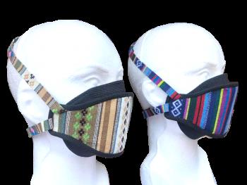 Mayan Protection Shield - Backpack Buddha Mask