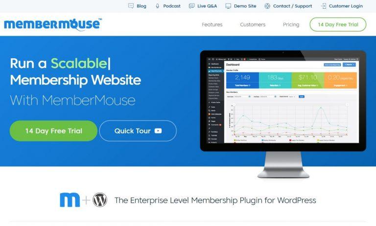 MemberMouse review – The Best WordPress Membership Plugin