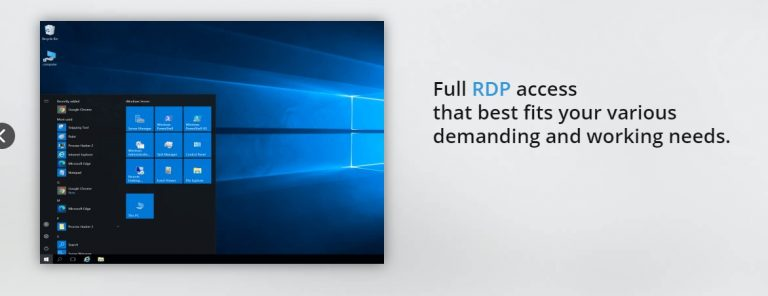 RDP Arena Review: The Test 2021 RDP Provider