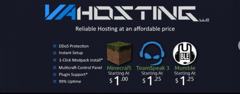 VA Hosting Review: Get Minecraft Hosting Under $2/Month