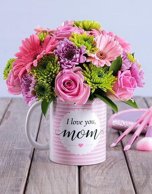 Flower Birthday gift for mom