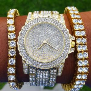 Gold Frozen Watch - Golden Boyz review
