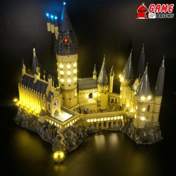 Lego Light Kit for Hogwarts Castle - Game of Bricks review