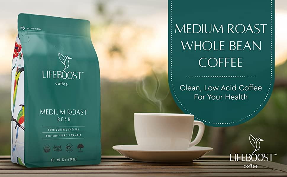 Lifeboost coffees