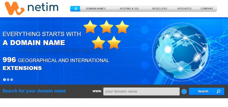 Netim Review: 5-Star Worldwide Registrar & Hosting