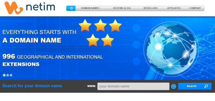 Netim Review 5-Star Worldwide Registrar Hosting