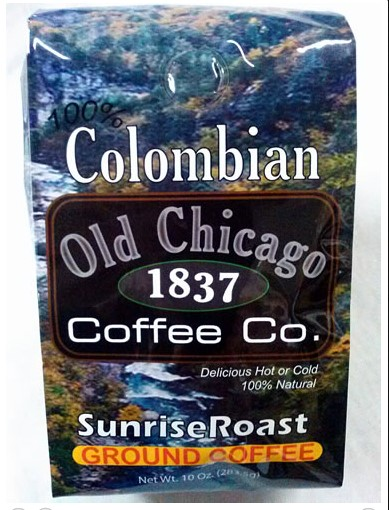 Old Chicago Coffee review colombian coffee