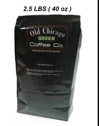 Old Chicago Coffee review green coffee beans
